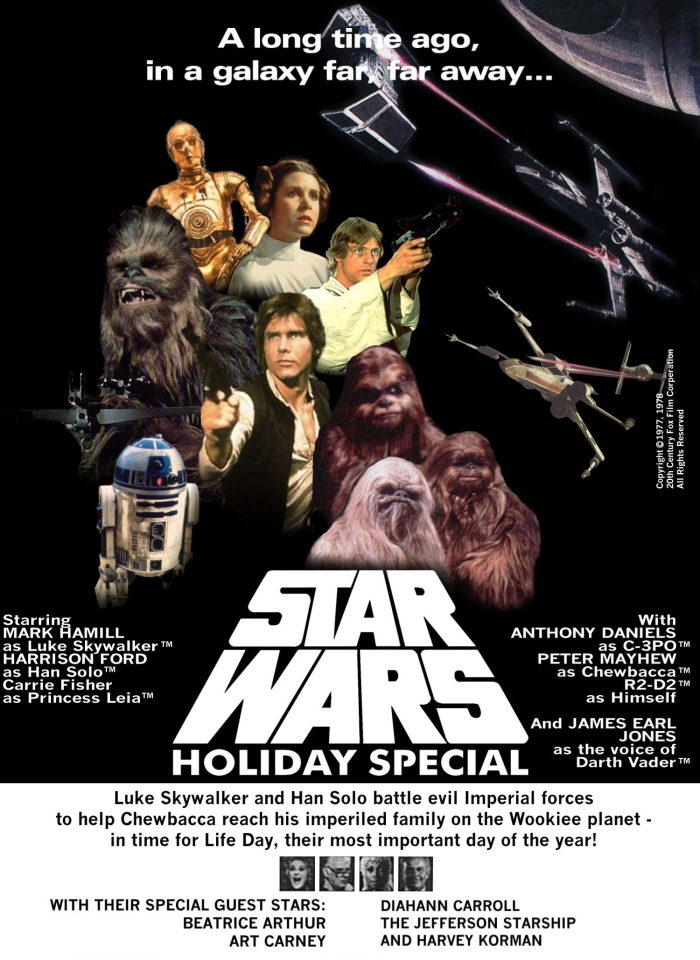 Celebrate with The Star Wars Holiday Special!