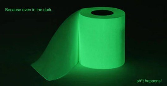 Glow in the Dark Toilet Paper   Awesome Stuff 365 Glow in the Dark Toilet Paper