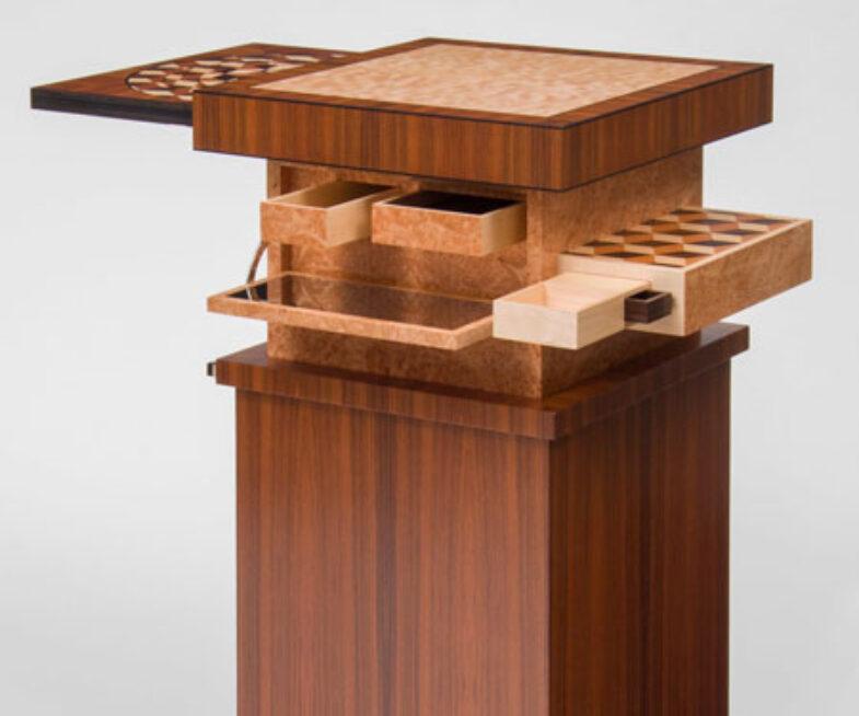 Automaton Mechanical Puzzle Table