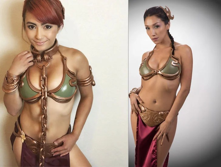 Traje Cosplay Leia Cosplay personalizável - Cosplay Ideas For Girls