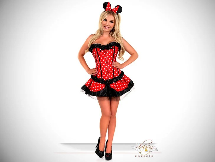 Fato de Disney Tema Minnie Mouse