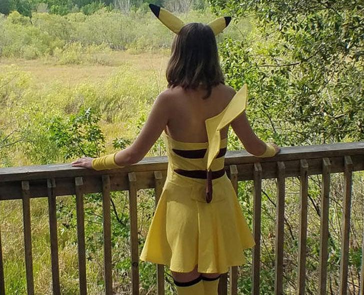 Fato de Pikachu Cosplay