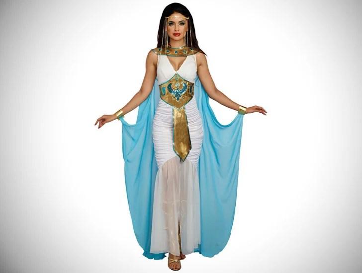 Rainha das mulheres do traje De Nile
