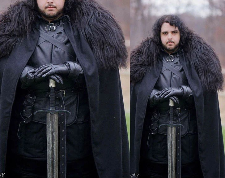 Fato de Jon Snow de Game of Thrones