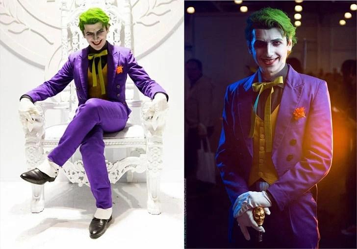 Joker Cosplay - Ideias de Cosplay para rapazes
