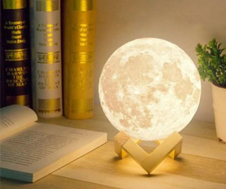 Bedside Moon Lamp