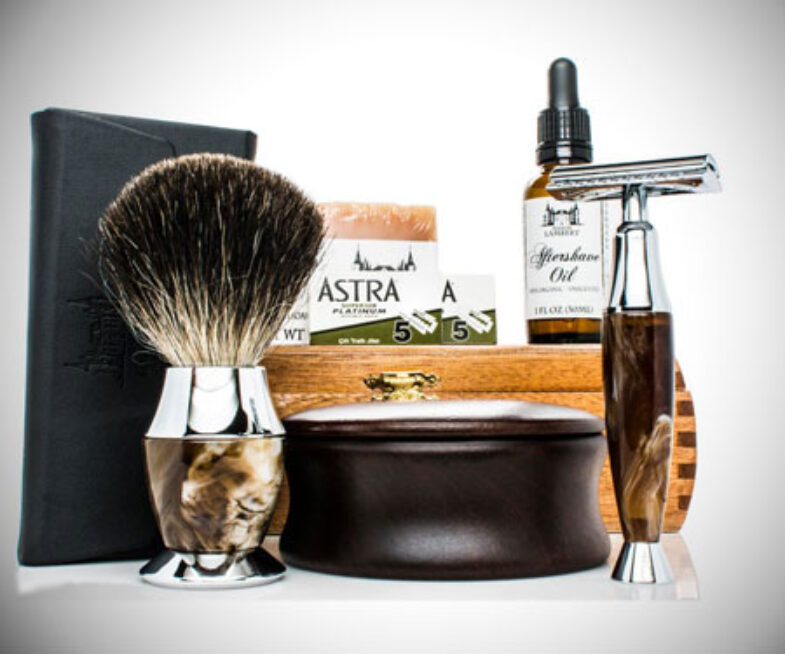 Personalised Luxurious Shaving Kit