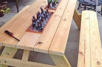 Picnic Table Coolers