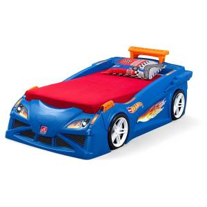 Step2 Hot Wheels Toddler to Twin Bed Review