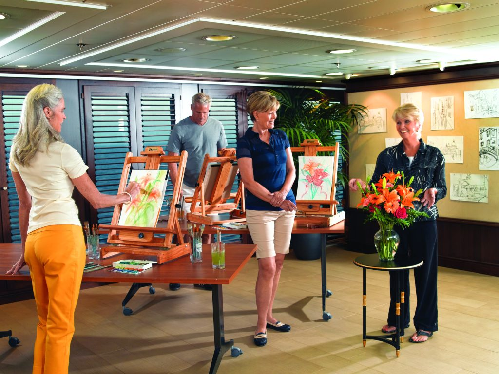 The Artists Loft onboard Oceania's Riviera - Oceania Cruises