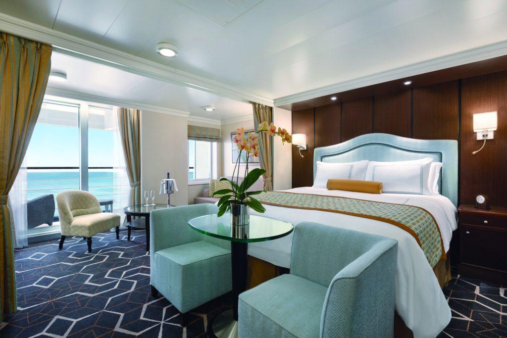 A Penthouse Suite onboard Oceania's Riviera ©Oceania Cruises