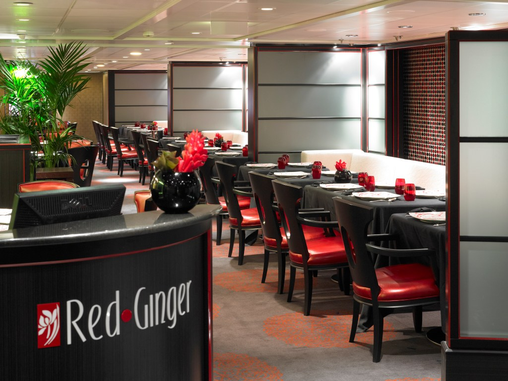 The Red Ginger Restaurant - Oceania Cruises