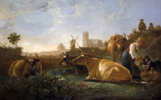 Full title: The Large Dort Artist: Aelbert Cuyp Date made: about 1650 Source: http://www.nationalgalleryimages.co.uk/ Contact: picture.library@nationalgallery.co.uk Copyright (C) The National Gallery, London