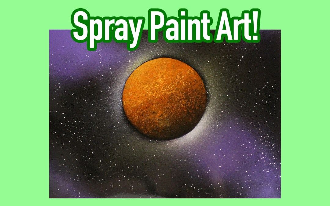 Dune Spray Paint Art
