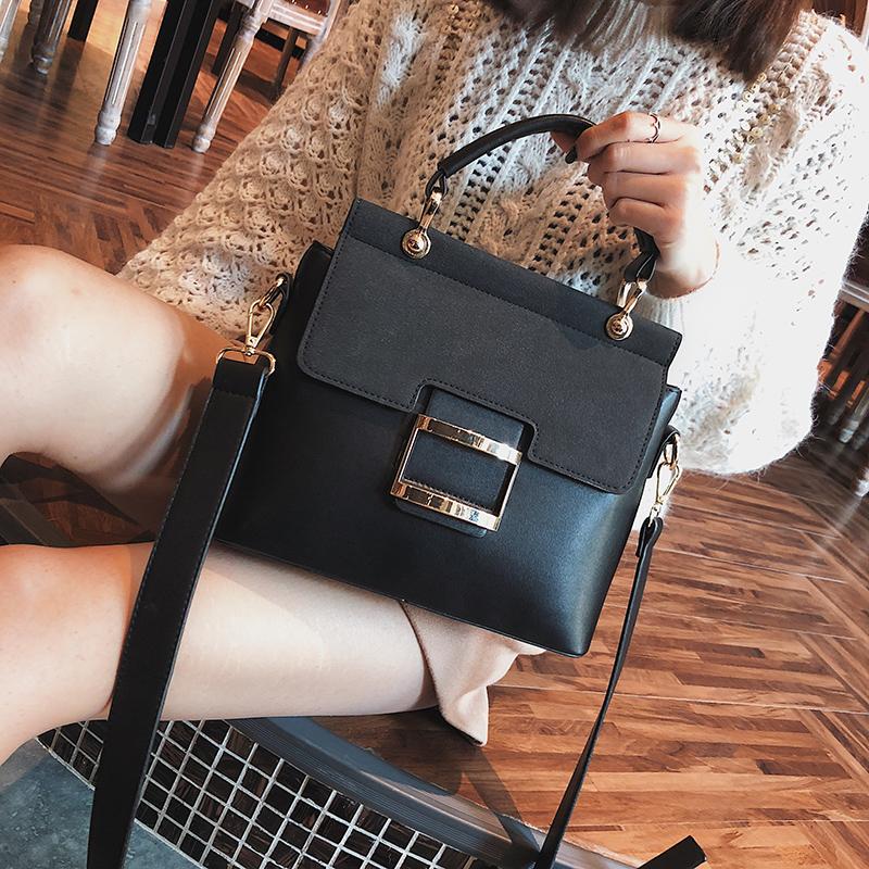 Women Handbags Metal Hasp Female Shoulder Bag2