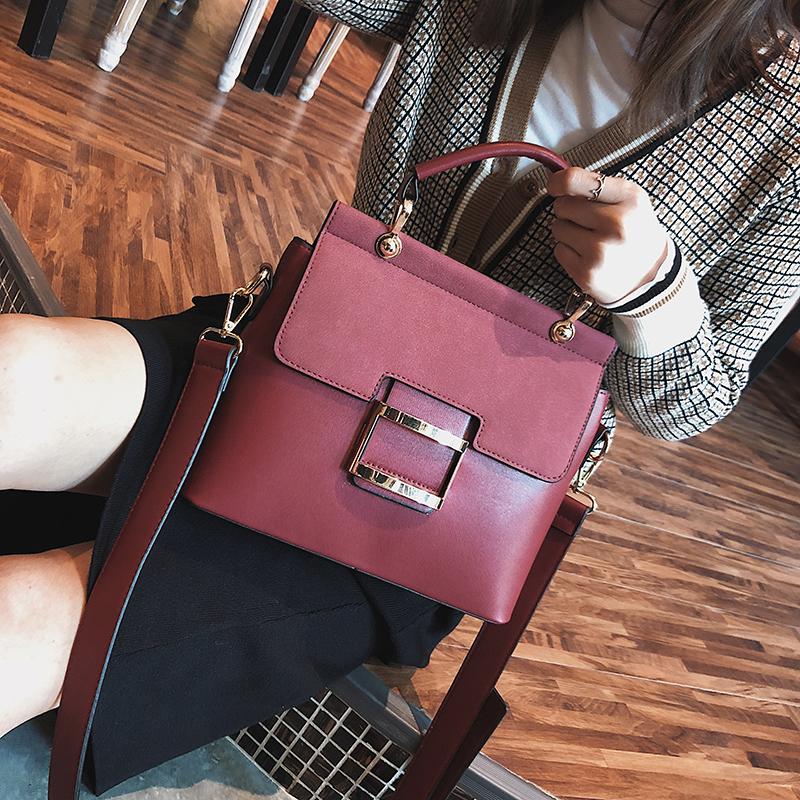 Women Handbags Metal Hasp Female Shoulder Bag3