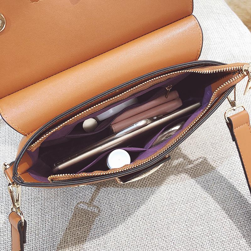 Women Handbags Metal Hasp Female Shoulder Bag5