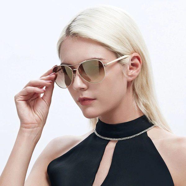 Womens Fashion Brown Sunglasses 5