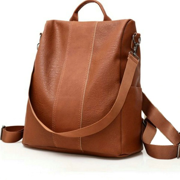 Retro WomenS Leather Backpacks 5