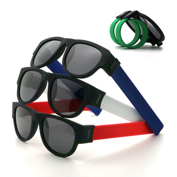 Fancy Slap Wristband Men Polarized Sunglasses 5