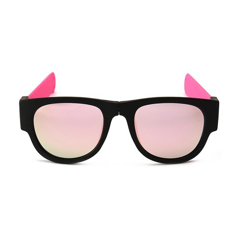 Novelty Mirror Men Polarized Folding Sunglasses
