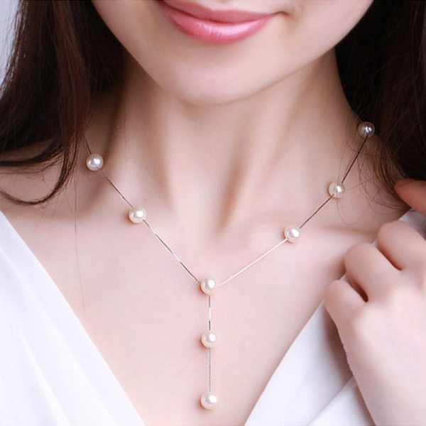 Imitation Pearl Bridal Jewelry Sets 5