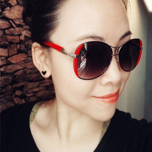 Vintage Women's Oval Sunglasses