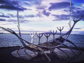 The Sun Voyager - Viking ship art