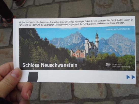 Neuschwanstein Castle Ticket