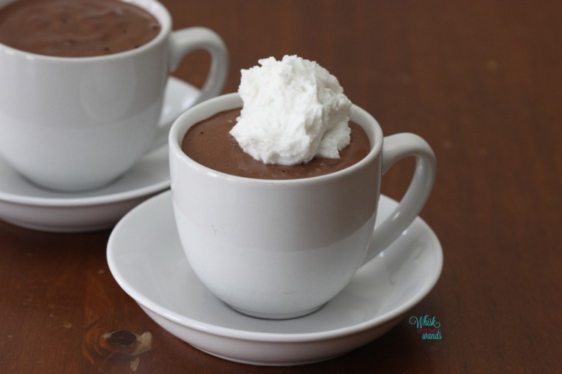 how to make chocolate cups for mousse