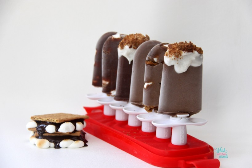 S'more Popsicles