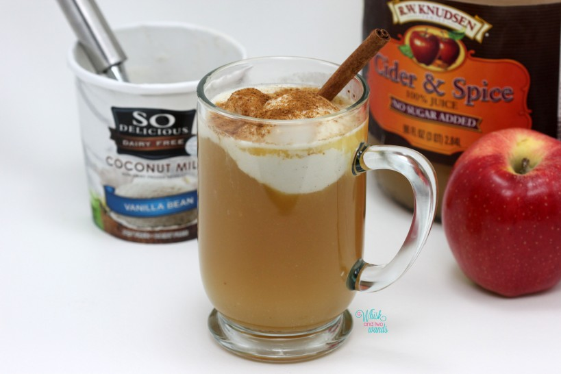 Warm Apple Cider Float