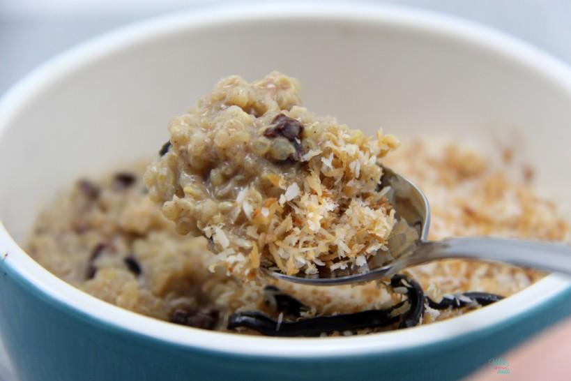 Somoas Cookie Quinoa Bowl