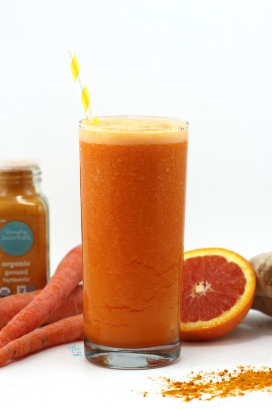 The Sun Will Come Out Tomorrow Turmeric Smoothie