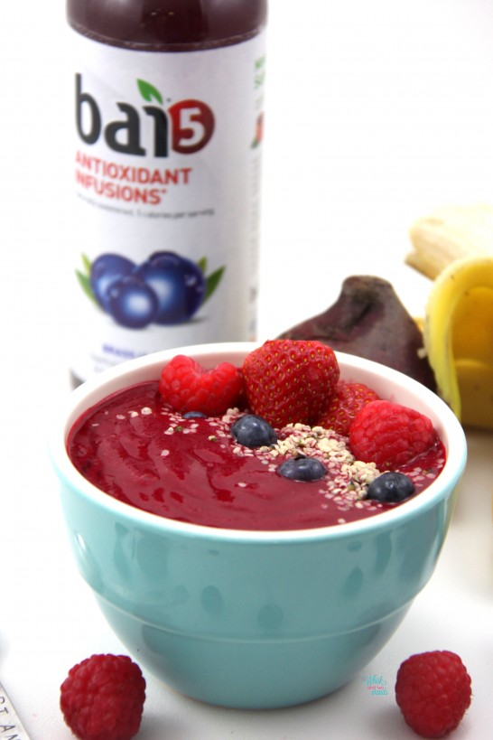 Can't Beet A Berry Smoothie Bowl