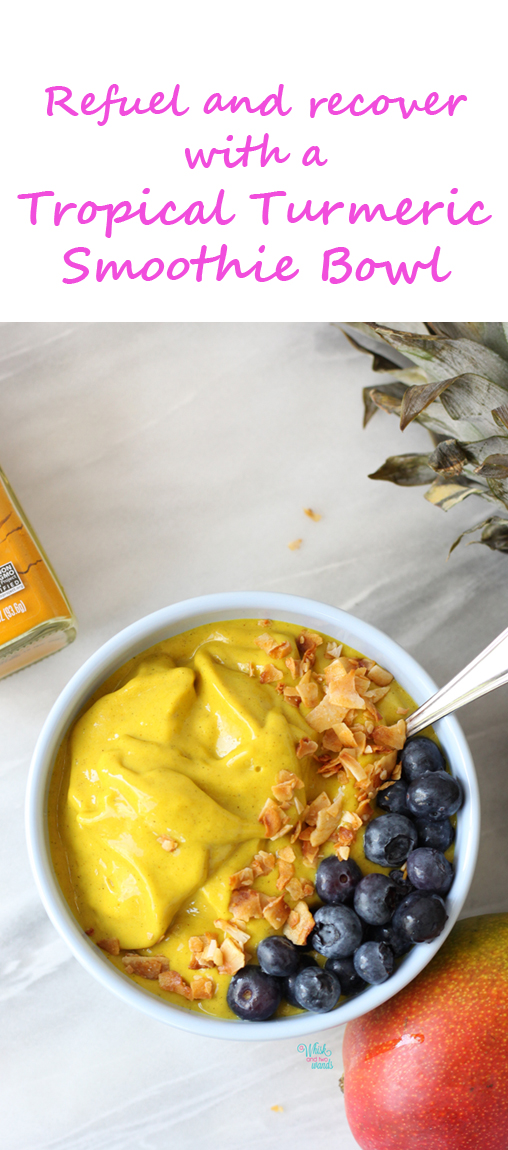 Tropical Turmeric Smoothie Bowl