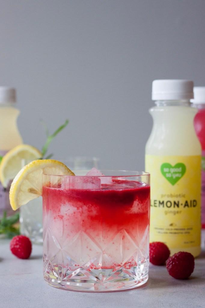Raspberry Rain LemonAid, A Whisk and Two Wands