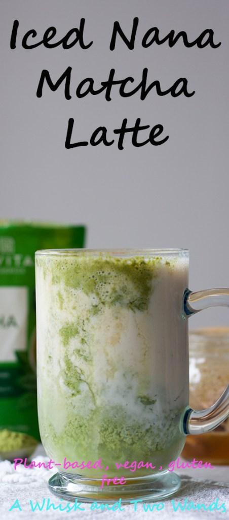 Iced Nana Matcha Latte