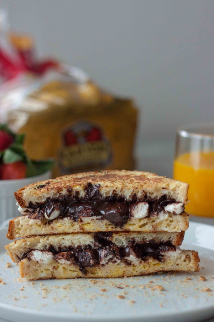 Gluten Free S'more Stuffed French Toast