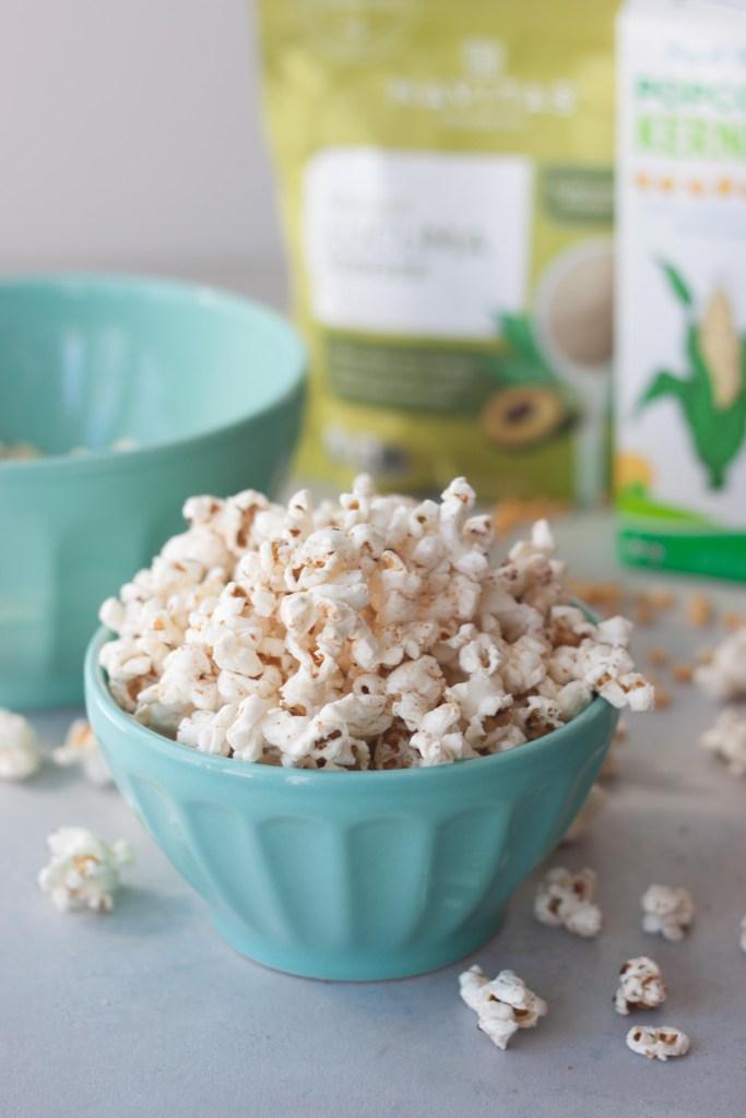 "Lucuma ""Caramel"" Popcorn Healthier Caramel Popcorn"