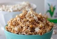 Healthier Caramel Popcorn