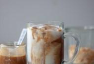 Iced Toasted Coconut Caramel Macchiato