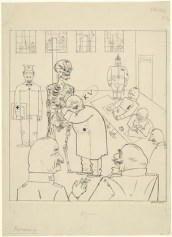 Grosz: Fit for Active Service ,1918