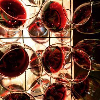 Glasses of Oregon Pinot Noir