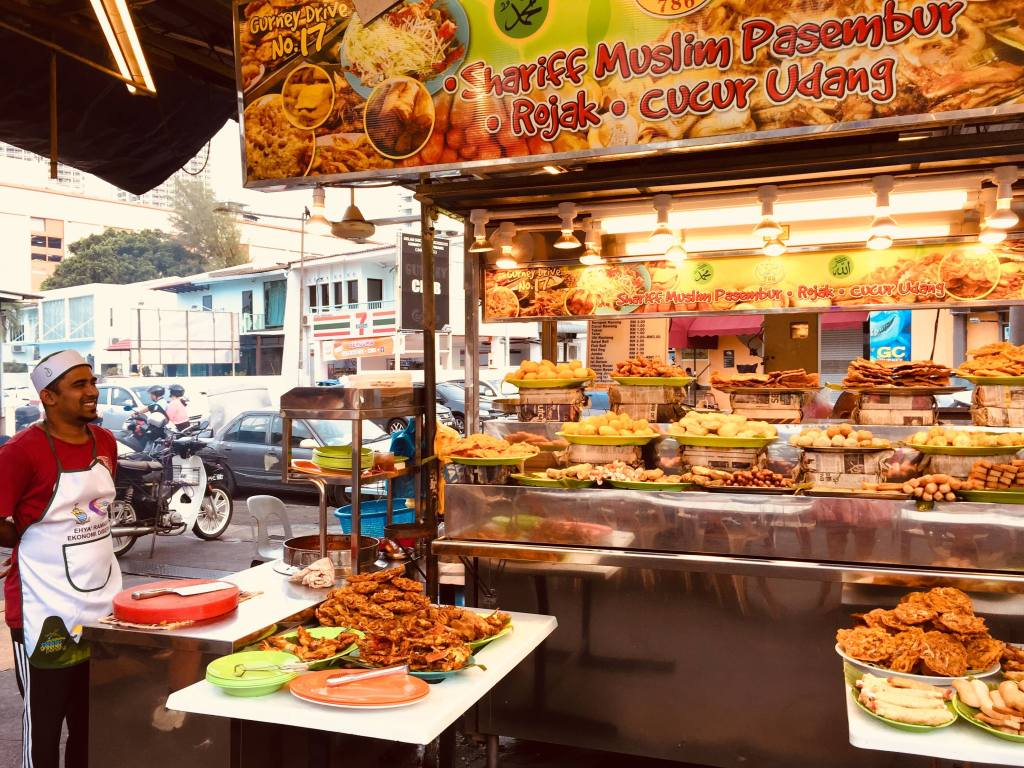 Gurney Drive Food Court   Where To Eat In Penang, Malaysia   The Best Foods To Try In Penang, Malaysia #foodietravel #food #travel #travelblog #asia #southeastasia #malaysia #penang