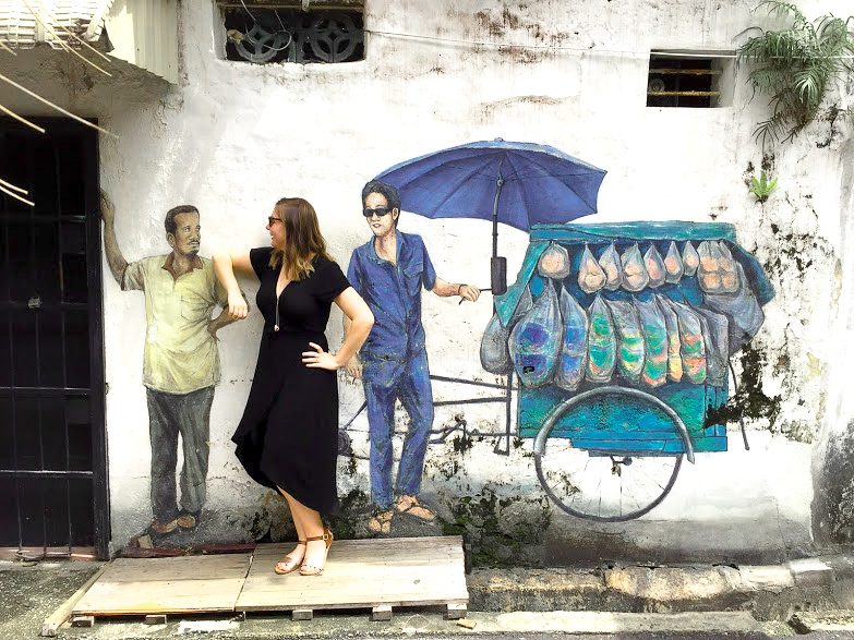 Penang Street Art | Things To Do In Penang | How To Spend Three Days In George Town Penang #georgetown #penang #malaysia #asia