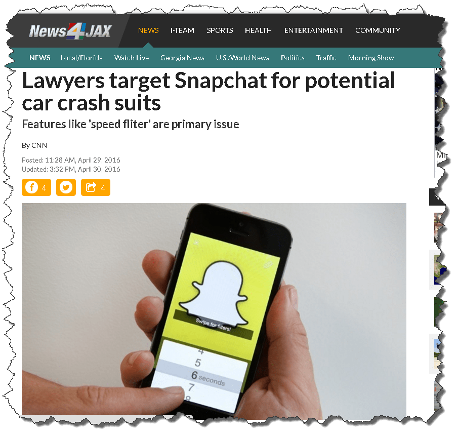 A Wired Family App Update: SnapChat's Speed Filter - A Wired