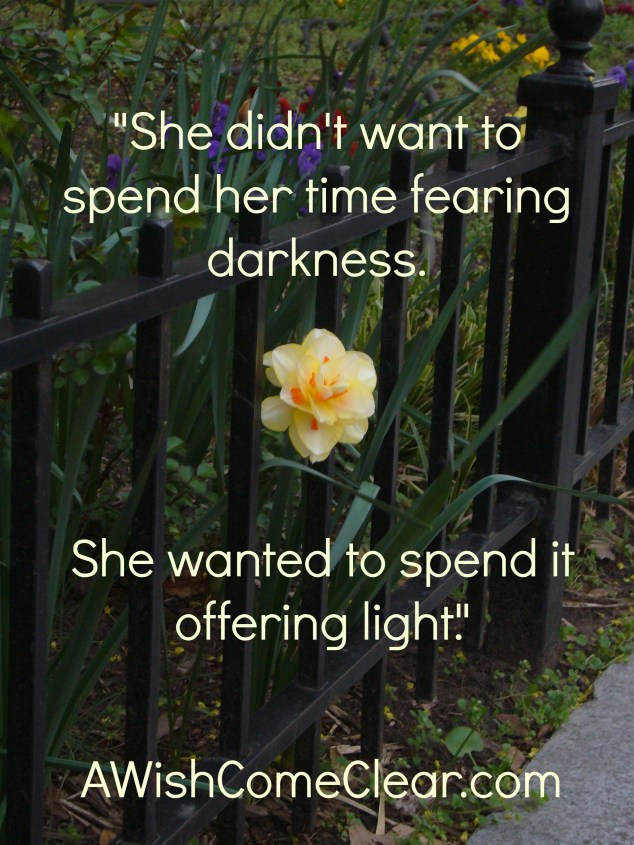 Spend it offering light