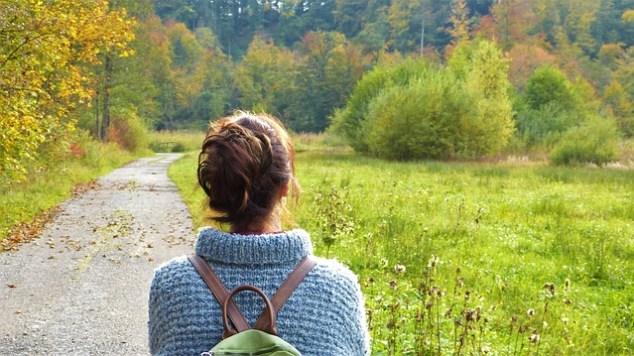 Walk the Beauty Way, peaceful path