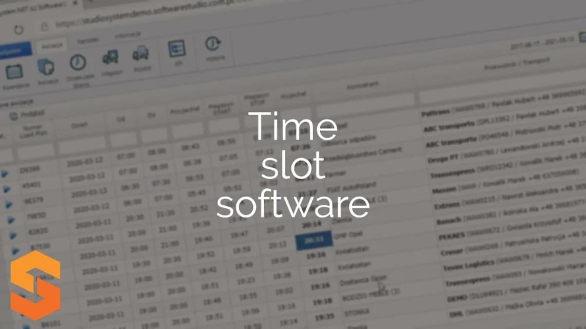 platforma zarządzania oknami czasowymi,time slot software